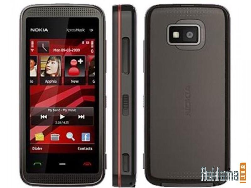 Щёлкните для просмотра следующей фотографии. Nokia 5530 xpressmusic (чёрно